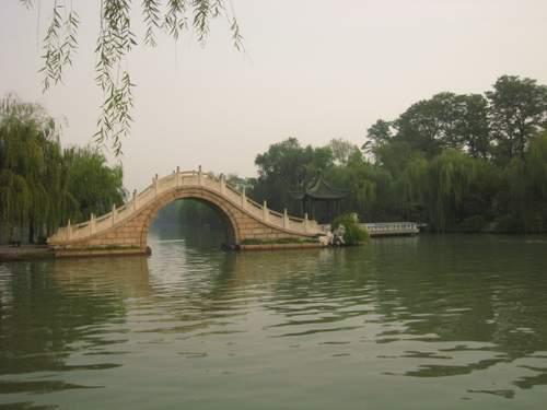 扬州风景的电子小报