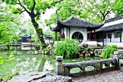 中国园林,文人写意的山水 看苏州园林保护的 三对关系 –