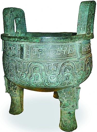镇馆之宝·上海博物馆·大克鼎:入土两次,穿越三千载,醒来仍是少年_我和-苏州-过继-博物馆-北京